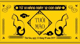 Tử vi tuổi Mão ngày 13/09/2019: Trung Thu viên mãn, đong đầy