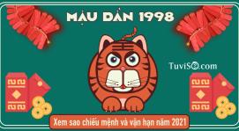 Xem sao hạn năm 2021 tuổi Mậu Dần 1998: Mộc Kim cân bằng vận khí