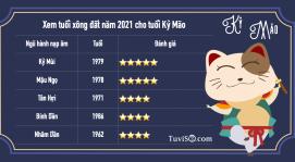 Xem xông đất năm 2021 tuổi Kỷ Mão 1999: Tân Hợi xông đất vạn sự hanh thông